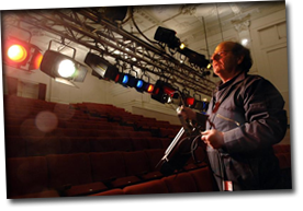 become a stage theatre manager